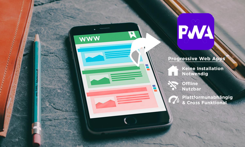 Progressive Web Apps auf dem Vormarsch