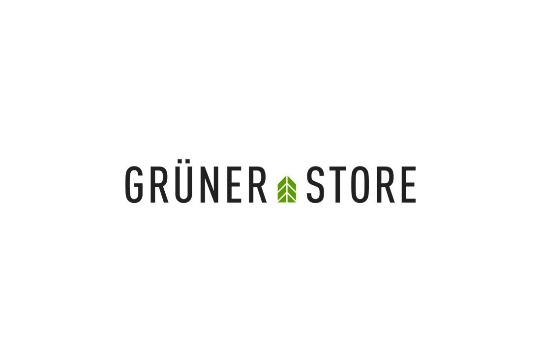Branding: Logo von Grüner Store