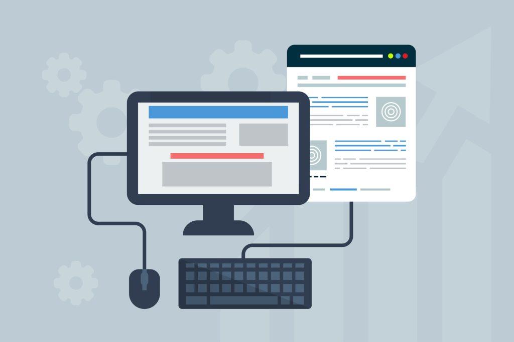 Die Layout-Typen von Webseiten und Onlineshops