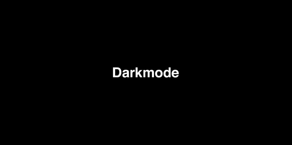 Darkmode bei Webseiten: Was steckt hinter dem Trend?